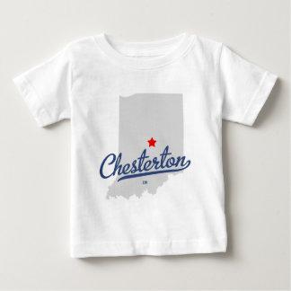 ワイシャツのChestertonインディアナ ベビーTシャツ