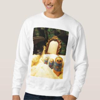 ワイシャツのmatryoshkaのロシアのなネスティング人形 スウェットシャツ