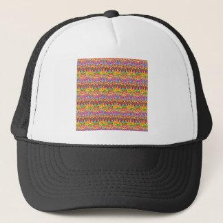 ワイシャツのNavinJoshi著カラフルな抽象デザイン キャップ