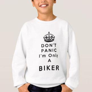 ワイシャツはバイクもしくは自転車に乗る人のパニックに陥りません スウェットシャツ