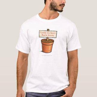 ワイシャツを播くことを行く Tシャツ