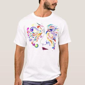 ワイシャツを着色します Tシャツ