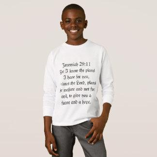 ワイシャツを賛美するジェレミアの29:11 Tシャツ