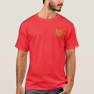 ワイシャツアラゴン紋章付き外衣の王国 Tシャツ