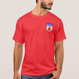 ワイシャツウィリアムダグラス紋章付き外衣 Tシャツ
