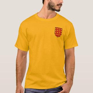 ワイシャツウィリアムDes Barres紋章付き外衣 Tシャツ