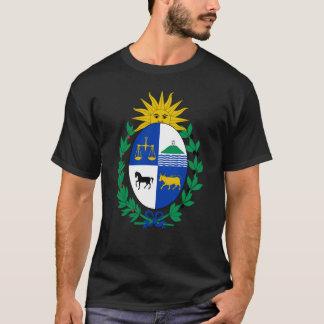 ワイシャツウルグアイの紋章付き外衣 Tシャツ