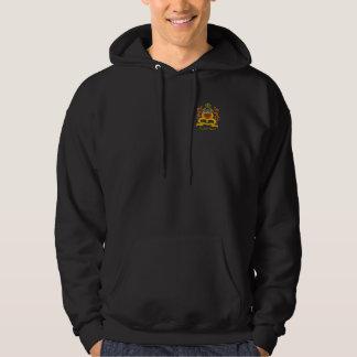 ワイシャツモロッコの紋章付き外衣 パーカ