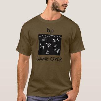 ワイシャツ上のbpのゲーム tシャツ