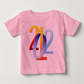 ワイシャツ新年の2012年の ベビーTシャツ