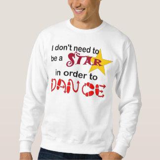 """""""ワイシャツ星""""がある必要はあないで下さい スウェットシャツ"""