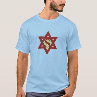 ワイシャツ極度のダビデの星 Tシャツ