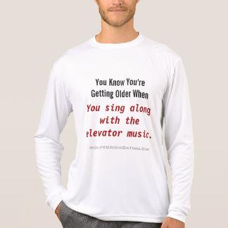 ワイシャツ歌に沿って新しいあなたの役人 Tシャツ