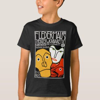 ワイシャツ: Fledermausの劇場およびキャバレー Tシャツ