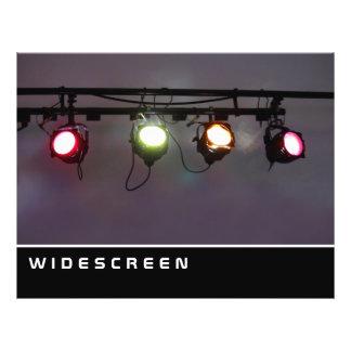ワイドスクリーン-スポットライトの列 チラシ