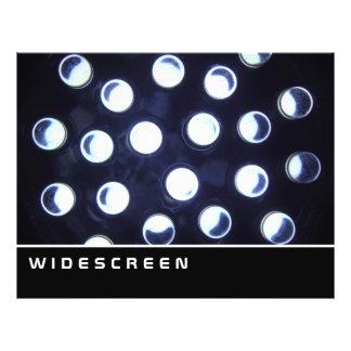 ワイドスクリーン- LEDライト チラシ