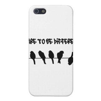 ワイヤーの鳥-異なるがあることを敢えてして下さい iPhone 5 COVER