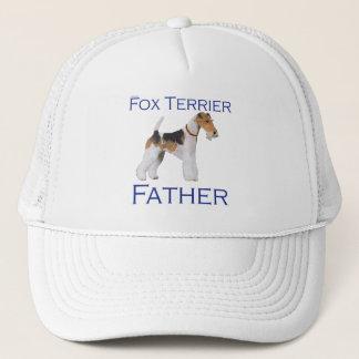 ワイヤーフォックステリア犬の父の日 キャップ