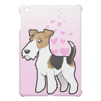 ワイヤーフォックステリア犬愛 iPad MINI カバー