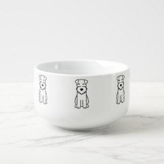 ワイヤーフォックステリア犬犬の漫画 スープマグ