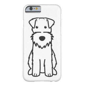 ワイヤーフォックステリア犬犬の漫画 BARELY THERE iPhone 6 ケース