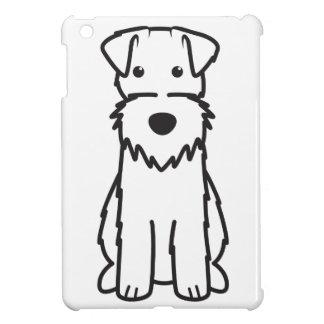 ワイヤーフォックステリア犬犬の漫画 iPad MINIカバー