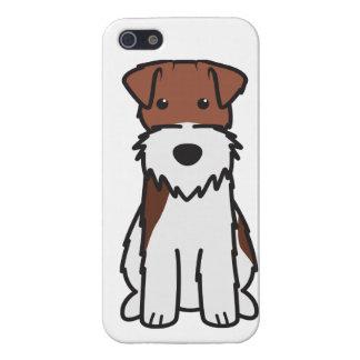 ワイヤーフォックステリア犬犬の漫画 iPhone 5 ケース