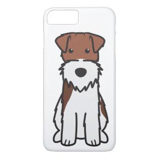 ワイヤーフォックステリア犬犬の漫画 iPhone 8 PLUS/7 PLUSケース