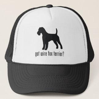ワイヤーフォックステリア犬 キャップ