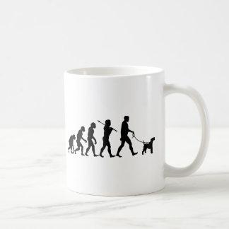 ワイヤーフォックステリア犬 コーヒーマグカップ