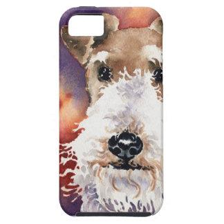 ワイヤーフォックステリア犬 iPhone SE/5/5s ケース