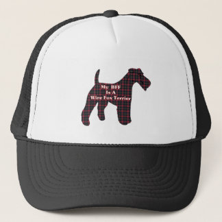 ワイヤーフォックステリア犬BFFの帽子 キャップ