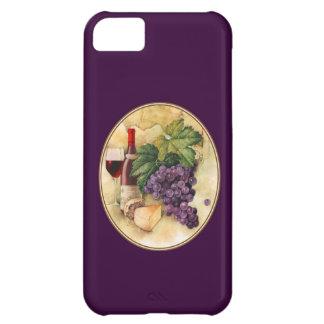 ワインおよびチーズ iPhone5Cケース