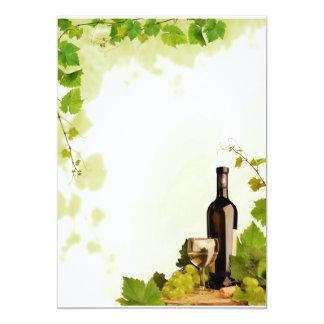 ワインおよびブドウ カード