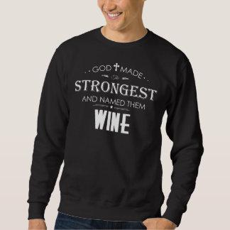 ワインのためのクールなTシャツ スウェットシャツ