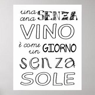ワインのない食事… ポスター