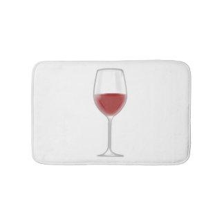 ワインのガラス バスマット