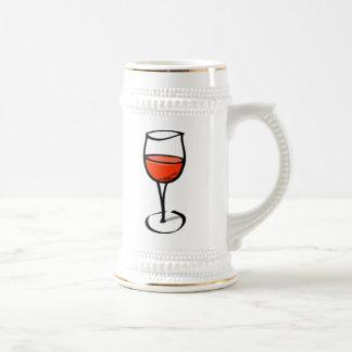 ワインのガラス ビールジョッキ