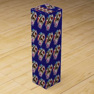 ワインのギフト用の箱NOVINOの幸せなグラフィックアートのコレクション ワインボトル ギフトボックス