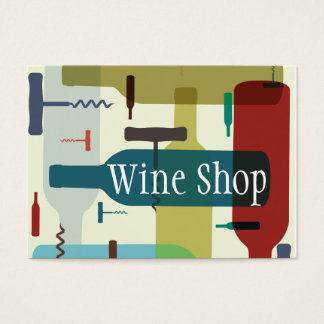 ワインのテーマの名刺 名刺