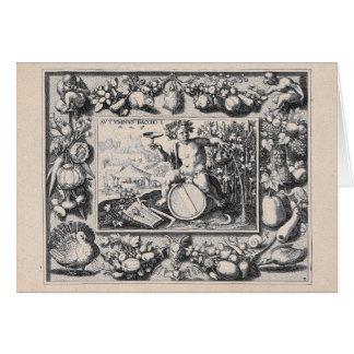 ワインのバッカス/Dionysusの神 カード