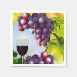 ワインの収穫 スタンダードカクテルナプキン