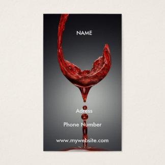 ワインの名刺 名刺