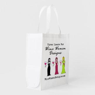 ワインの女性のデザインの昇進の価値 エコバッグ