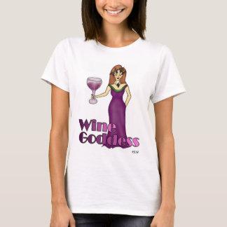 ワインの女神 Tシャツ