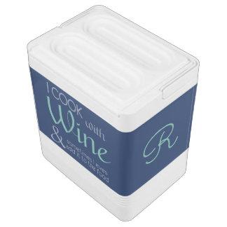 ワインの引用文のカスタムのクーラー 缶クーラー