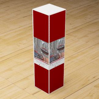 ワインの引用文のワイン箱 ワインギフトボックス