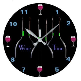 ワインの時間台所時計 ラージ壁時計