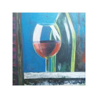 ワインの時間 キャンバスプリント
