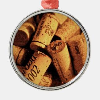 ワインの時間 メタルオーナメント